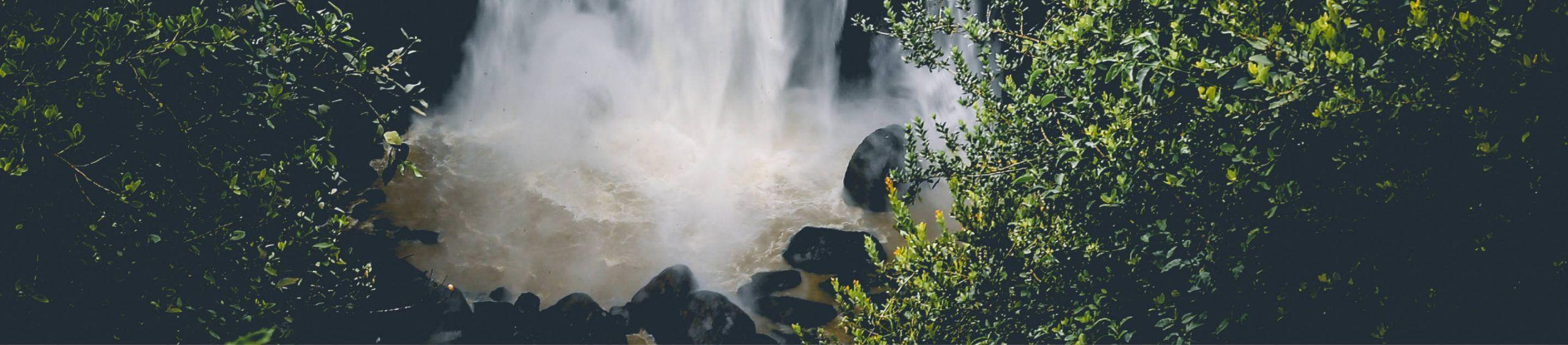 Wasserfallmündung