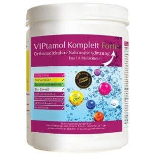 Viptamin Komplett Forte 600 gramm Pulver in der Dose