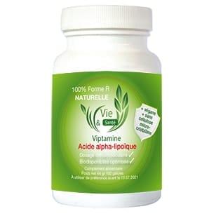 Acide alpha-lipoïque 100% forme R naturelle