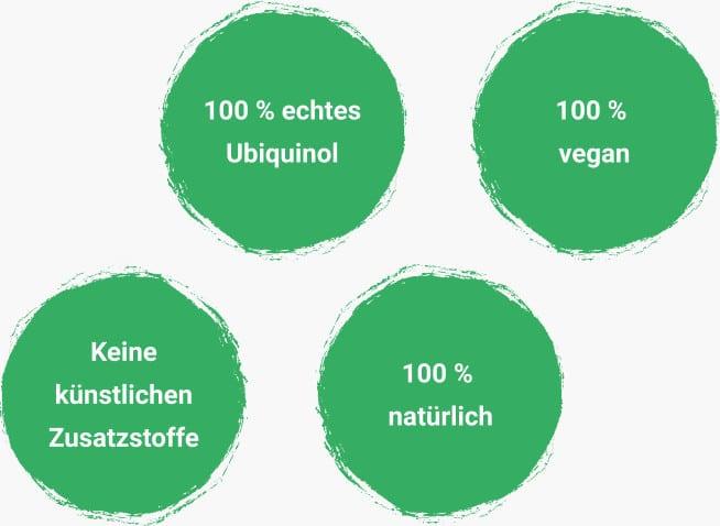 Vorteile von Ubiquinol Q10