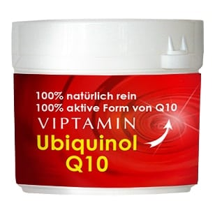 100% natürliches Q10 als Ubiquinol